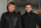 Учасники Чемпіонату Європи_2010 Заболотний Андрій та Бжостович Станіслав